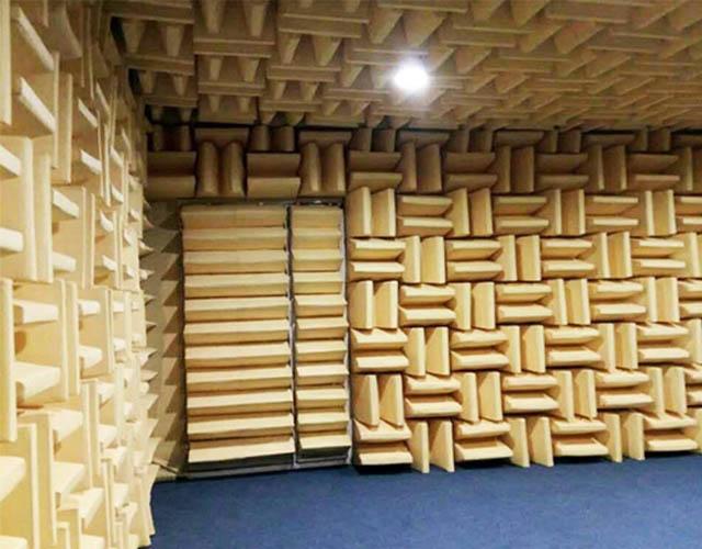 消声室结构测试噪声