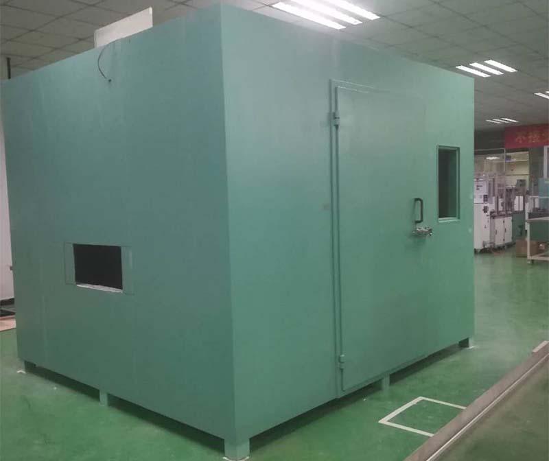 声学实验室噪声测试结构制作