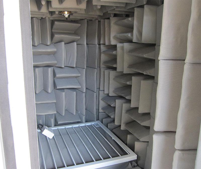 噪声隔音箱提供静音环境用作耳机喇叭噪声测试