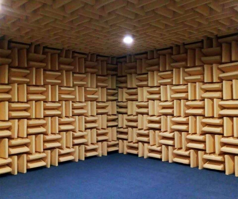 消声室建造使用的消声尖劈用处