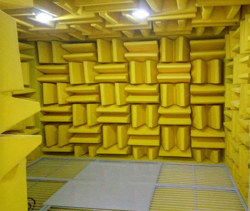 消声室声学设计与性能检测