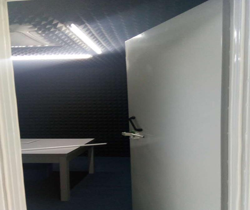 消音室噪声测试实验建设-艾弗尔声学