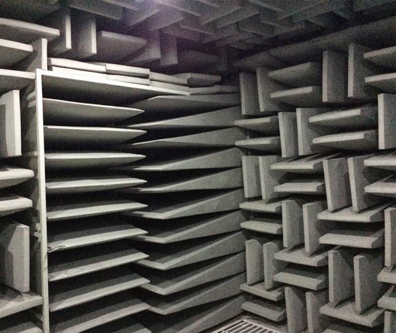 消声室建造与噪声功率数据测试要求