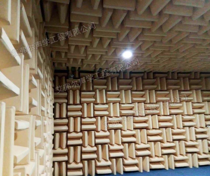 本底噪声的确定可以依据电声产品需要的测试空间和测试要求做设计